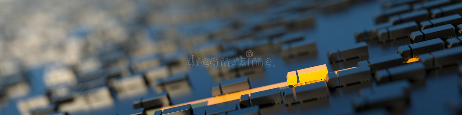 Logistics industry concepts royalty free stock images