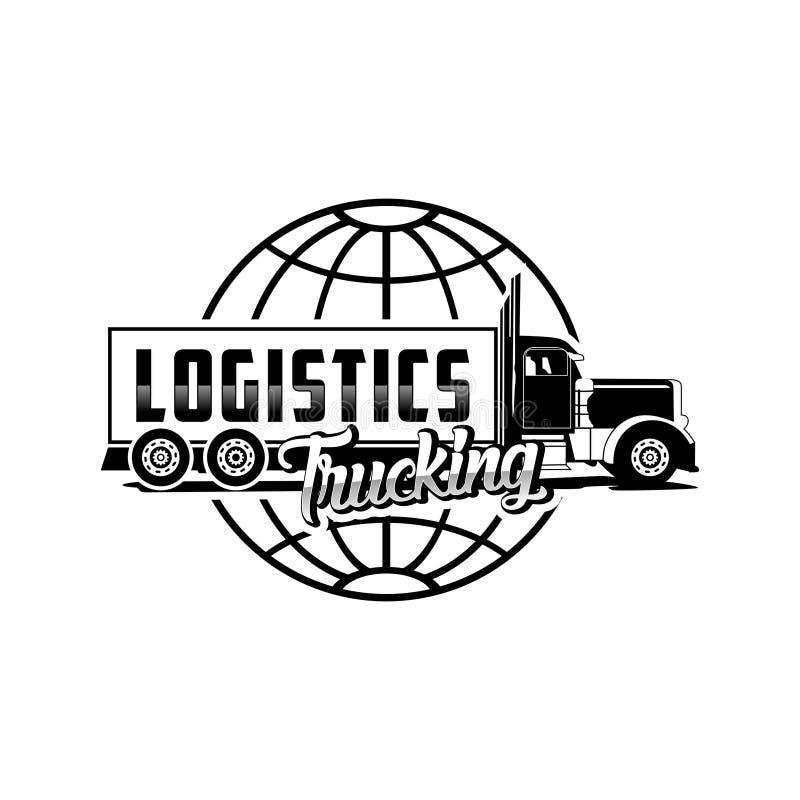 Free Logistics Trucking Logo Vector Stock Image - 114321451