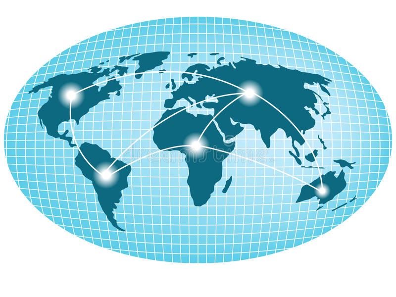 Logistiek vector illustratie