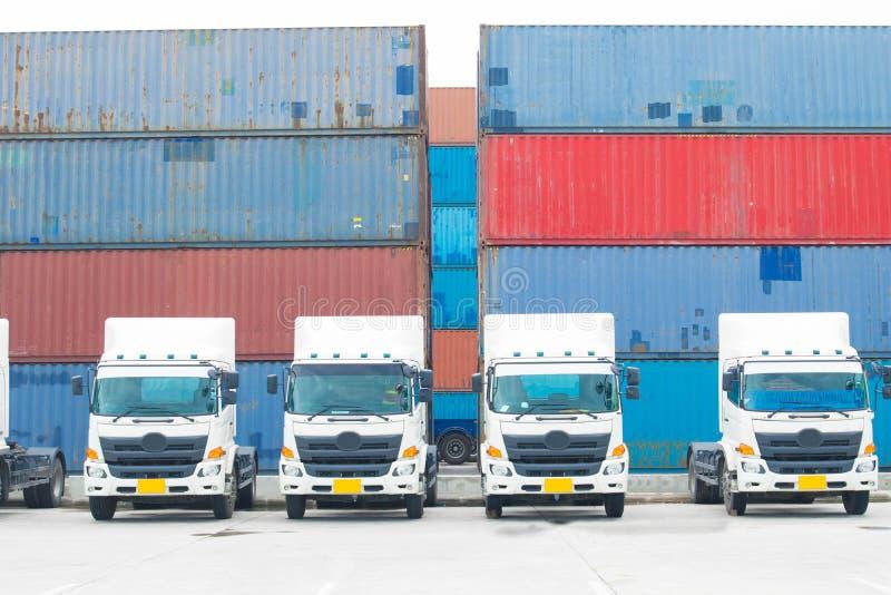 Logistiekvervoer stock foto