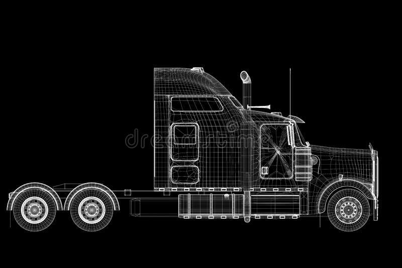 Logistik - transport royaltyfri foto