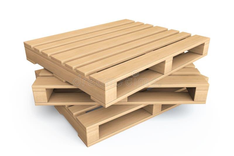 Logistisch concept houten pallets stock illustratie afbeelding 28671297 - Foto houten pallet ...