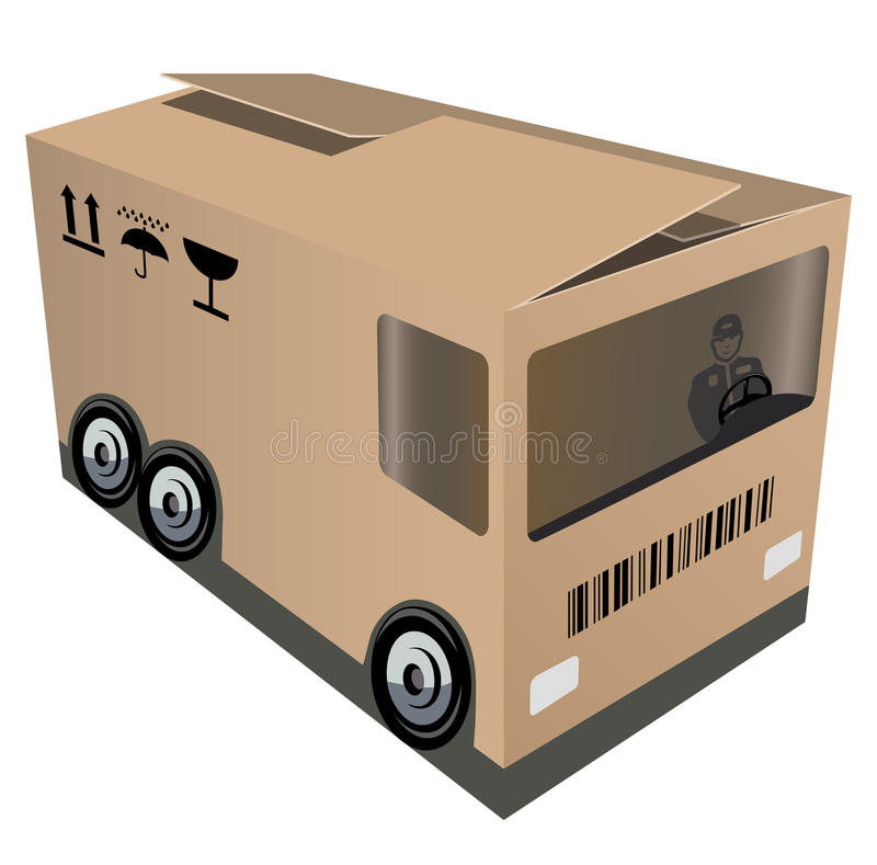 logistiskt stock illustrationer