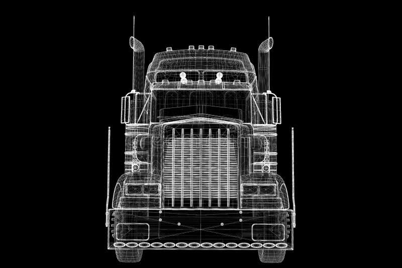 Logistyki - Przewożący samochodem obrazy royalty free