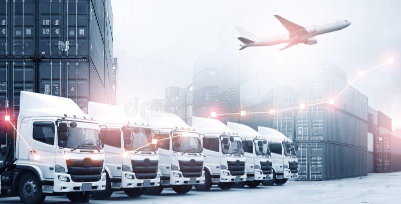 Logistyki wysyłki biznesu pojęcie zdjęcia royalty free
