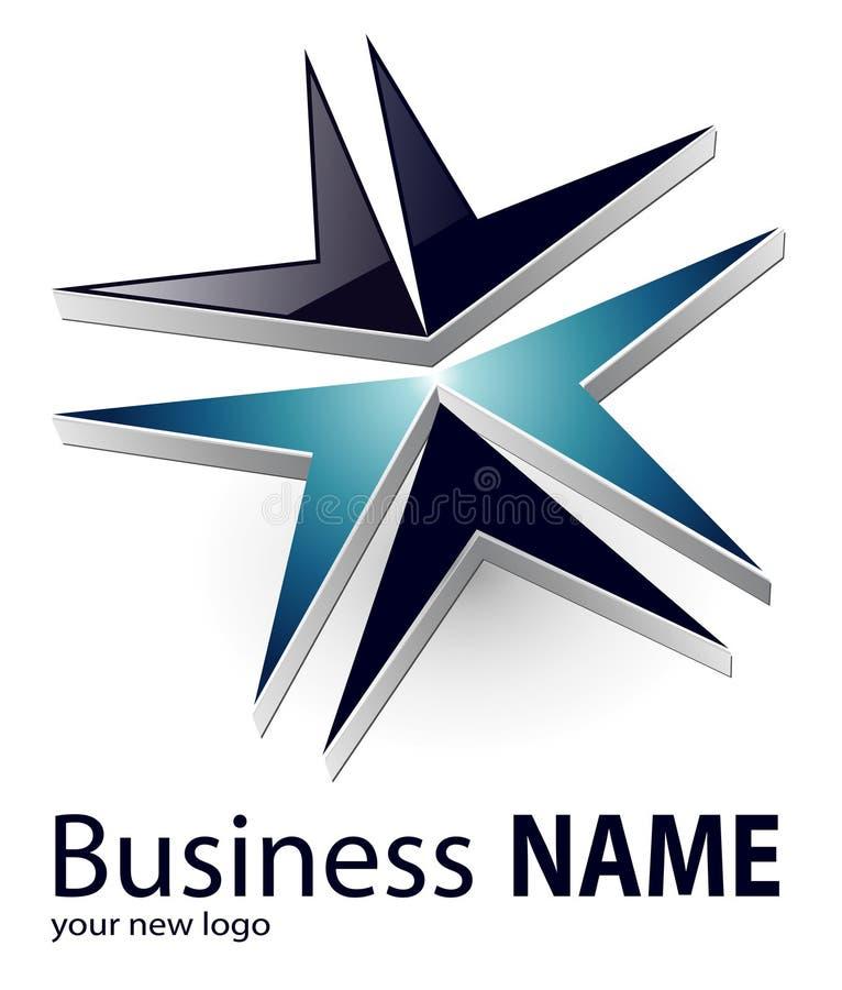 Logo illustration stock