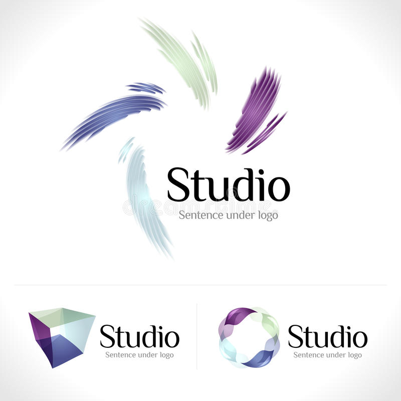 Logo illustration stock
