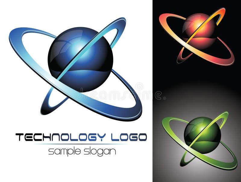 logo 3D illustration stock