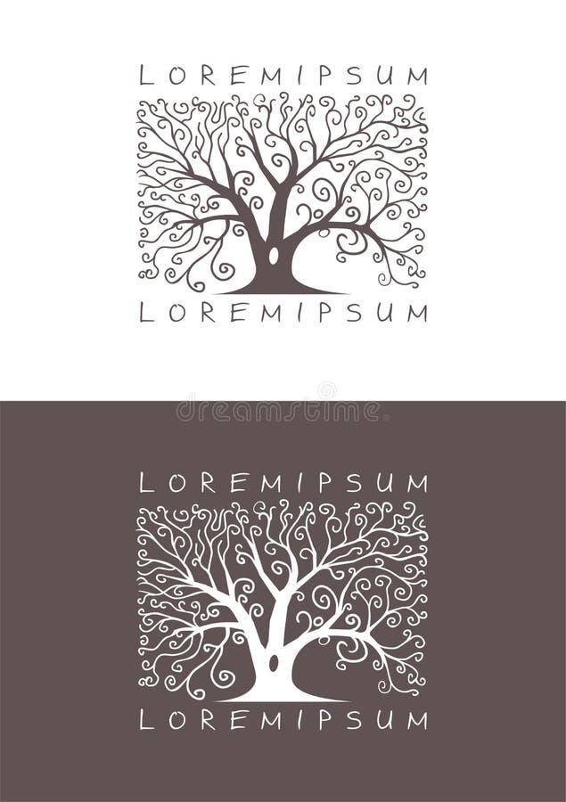 (1) logo ilustracja wektor