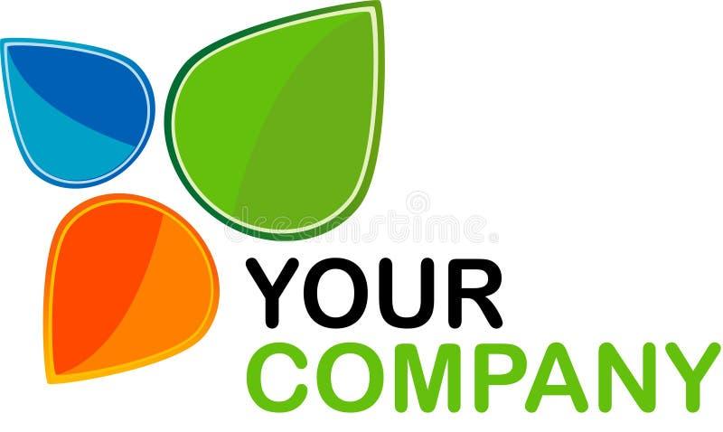 Logo. Icon flower natural company slogan