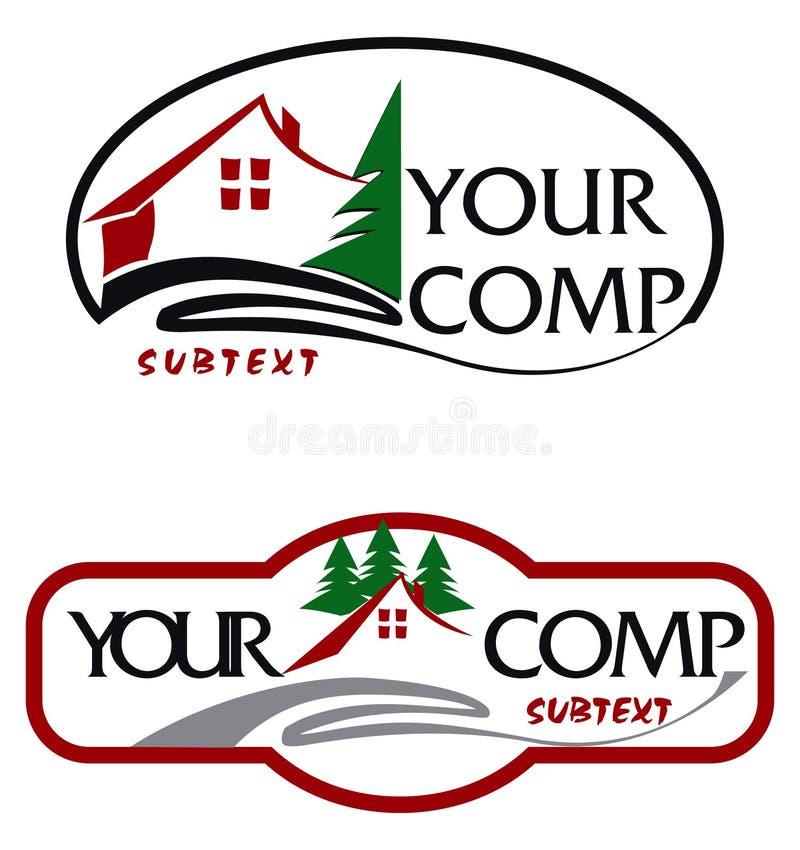 Download Logo stock illustration. Illustration of logo, hotel, architecture - 8524819