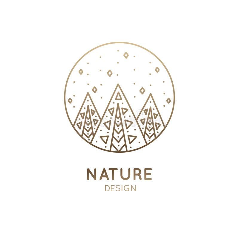 Free Logo Abstract Forest Royalty Free Stock Image - 106398086