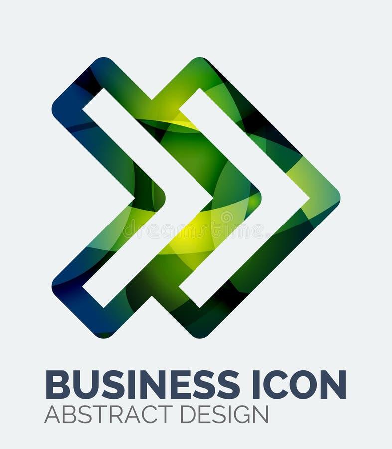 Logo abstrait d'affaires illustration libre de droits