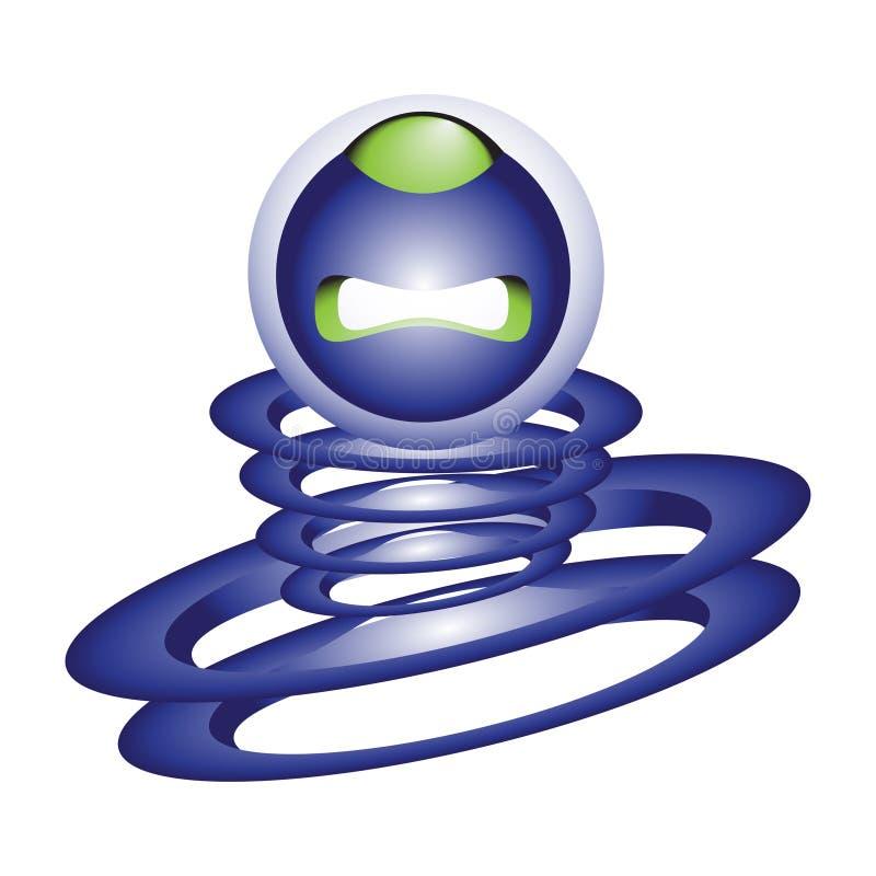 Download Logo abstrakcyjne ilustracji. Ilustracja złożonej z logowie - 57663484