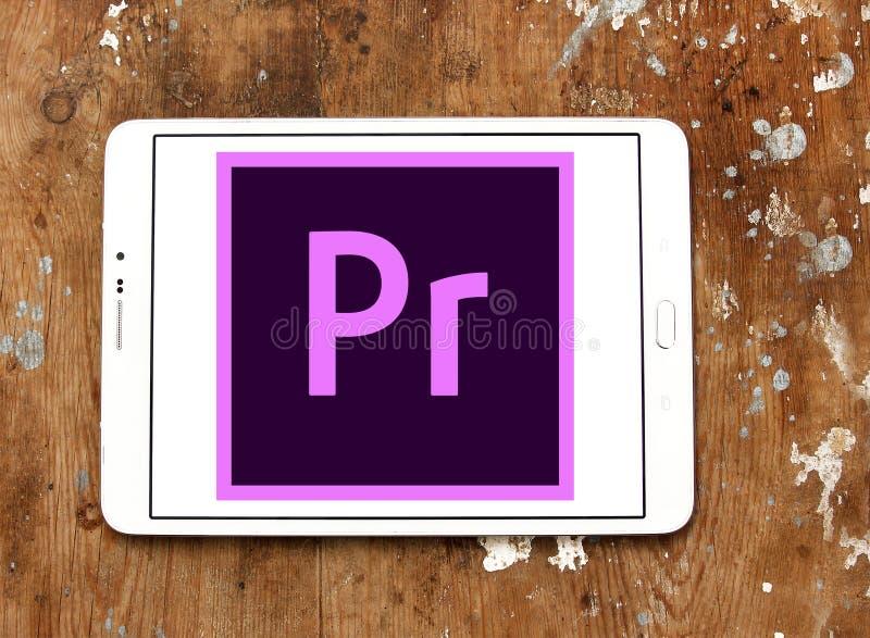Adobe Premiere Pro logo royalty free stock images