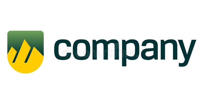 Logo for advocate business. Vector piramides logo design for advocate business stock illustration
