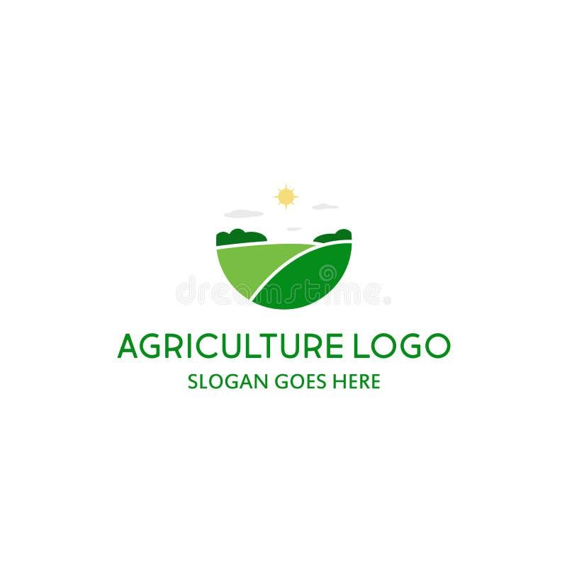 Logo Agriculture de votre entreprise illustration libre de droits