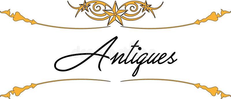 Logo - antyki 05 ilustracji