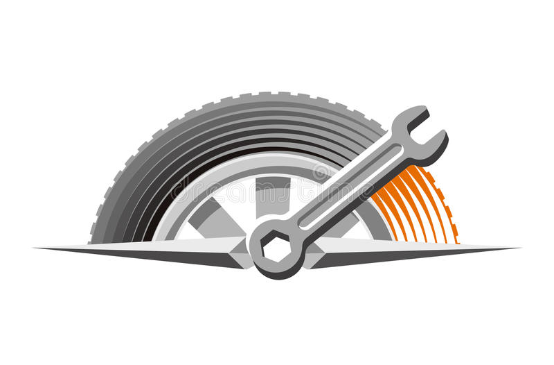 Logo of auto repair shop stock vector. Illustration of ...