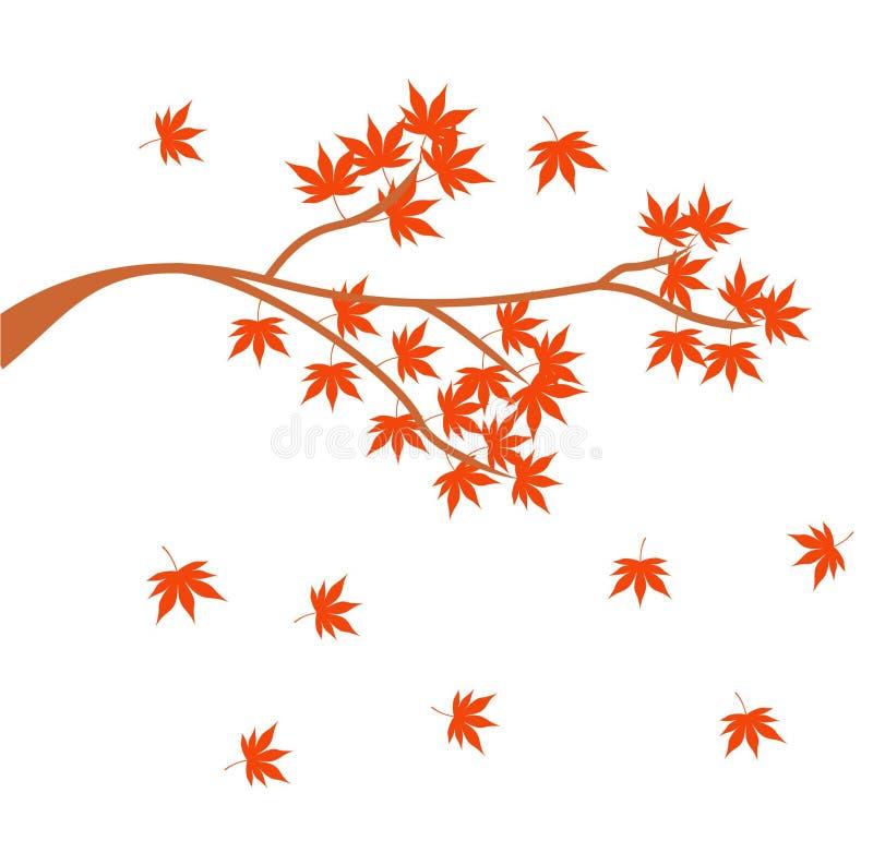 Logo av nedgångabstrakt begreppdesignen och geometriskt arkivbilder