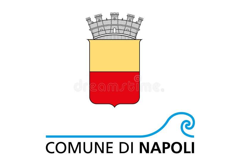 Logo av staden av Naples vektor illustrationer