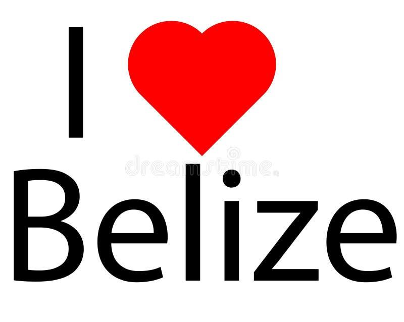 Logo avec amour du coeur I ceci illustration libre de droits