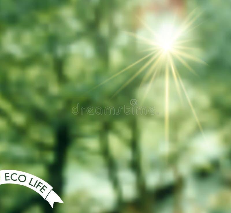 Logo avec la photo trouble comme fond photos libres de droits