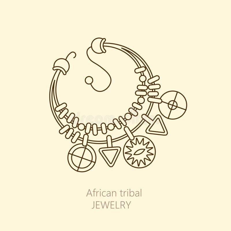 Download Logo Avec Le Collier Africain National Illustration de Vecteur - Illustration du affaires, positionnement: 77158555