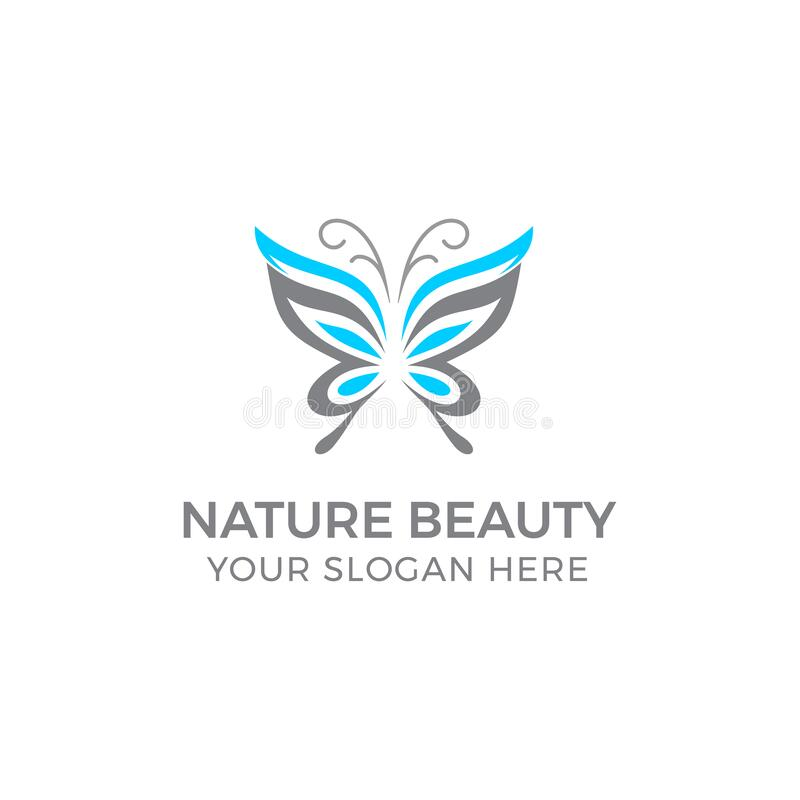 Free Logo Beauty Butterfly Royalty Free Stock Photography - 173904577