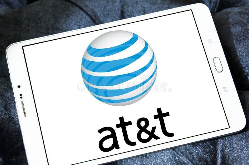 Logo beweglichen Betreibers AT&Ts lizenzfreie stockbilder