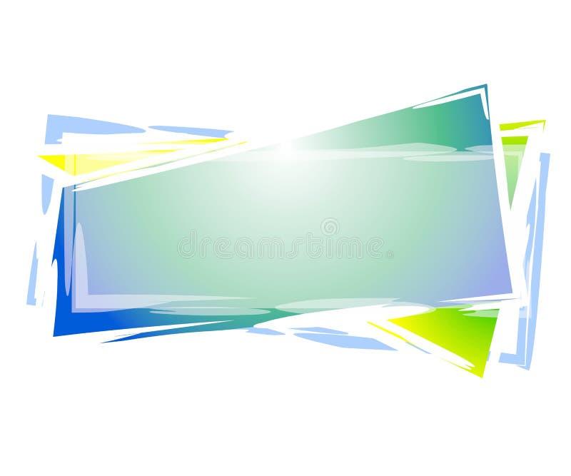 logo bibeloty prostokąta sieci ilustracja wektor