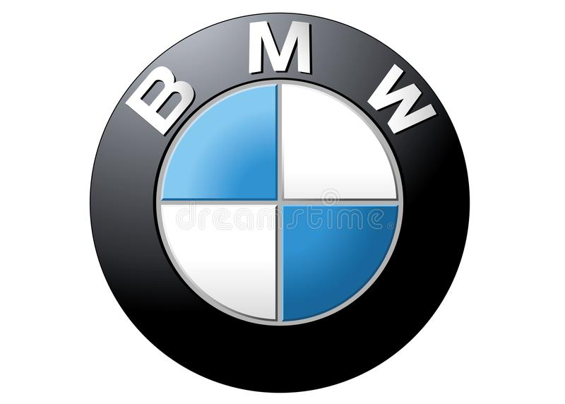 Logo BMW illustration libre de droits