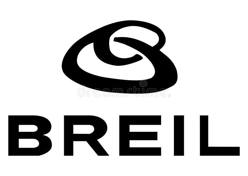 Logo Breil ilustração do vetor