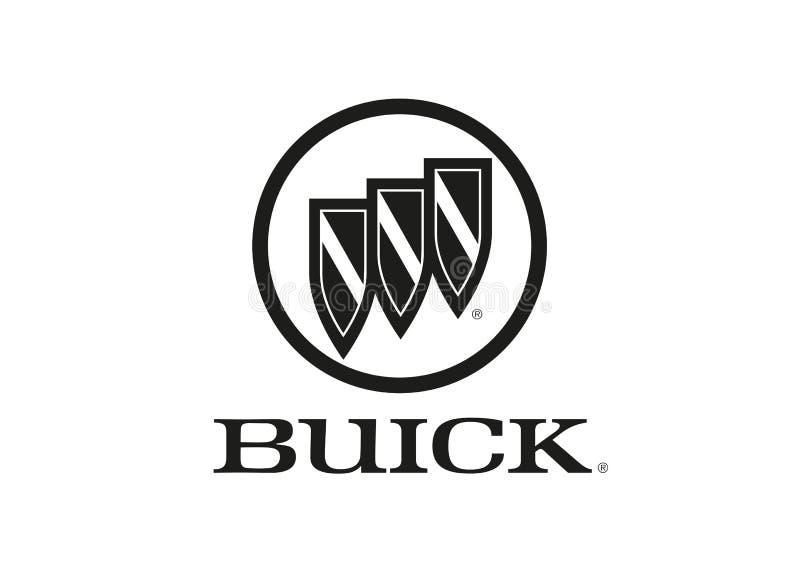 Logo Buick stock illustrationer