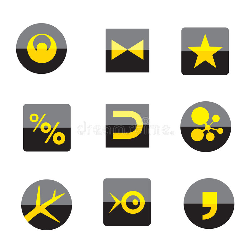 Logo Business Signs Stock Image