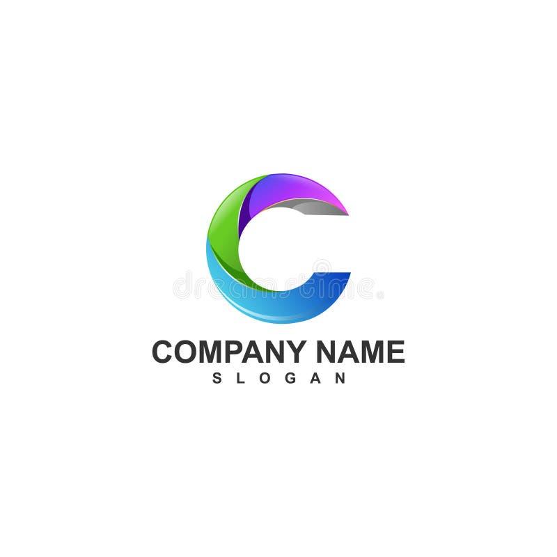 Logo C imagen de archivo