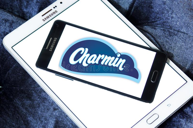 Charmin Toilet Paper Brand Logo Editorial Photography Image Of