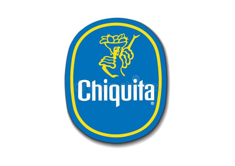 Logo Chiquita ilustração royalty free