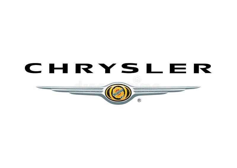 Logo Chrysler vektor abbildung