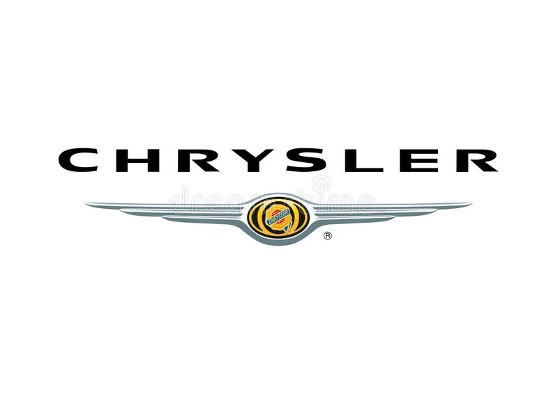 Logo Chrysler vector illustration