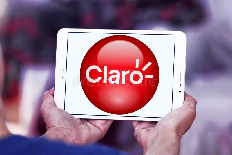 Claro Americas telecom company logo stock photography