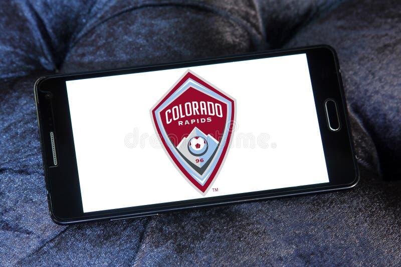 Colorado Rapids Soccer Club logo stock photography
