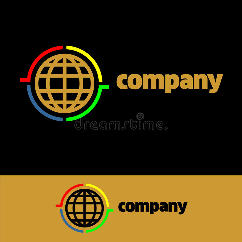 Logo Communication Company image libre de droits