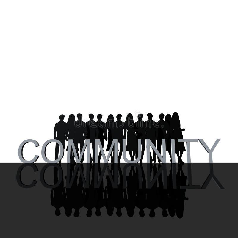 Logo Community stock illustration
