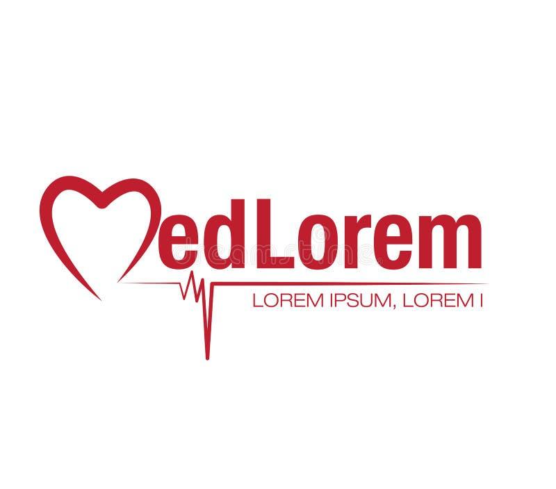 Logo Concept médical illustration libre de droits