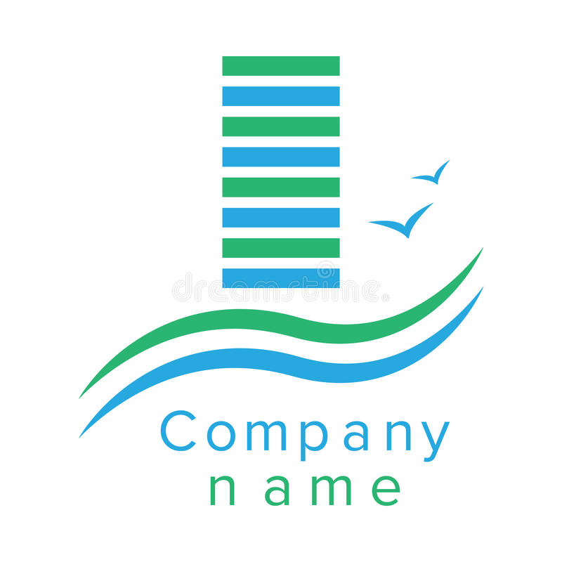 Dreams Construction Company: Logo For A Construction Company Stock Vector