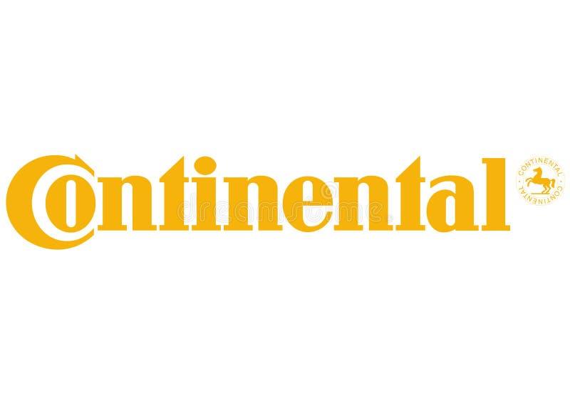Logo Continental illustration stock