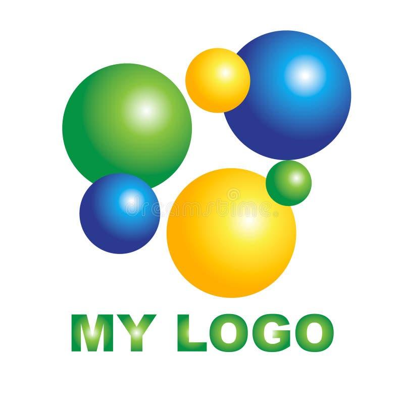 Logo créatif pour votre société illustration libre de droits
