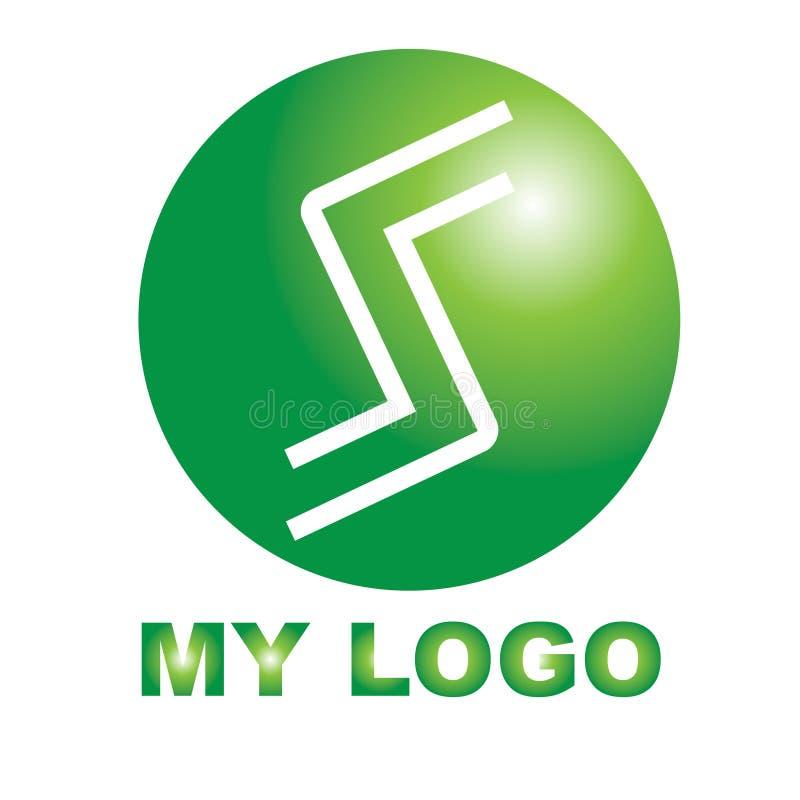 Logo créatif pour votre société illustration stock