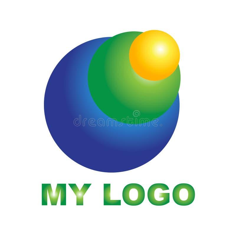 Logo créatif pour votre société illustration de vecteur